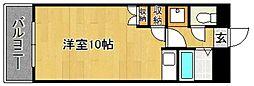 Kステーション八田[703号室]の間取り
