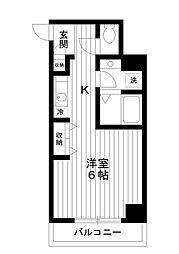 東京都練馬区向山1丁目の賃貸マンションの間取り