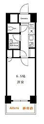 東京都中央区日本橋2丁目の賃貸マンションの間取り