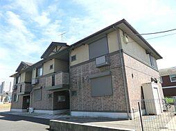千葉県市原市ちはら台西1丁目の賃貸アパートの外観