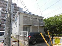 東京都江戸川区南葛西4丁目の賃貸アパートの外観