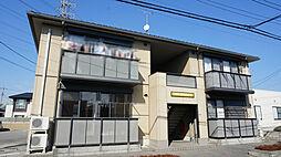 栃木県宇都宮市中今泉5丁目の賃貸アパートの外観