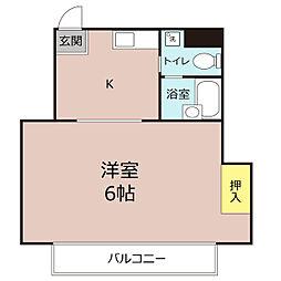 曙町第一ビル[3階]の間取り