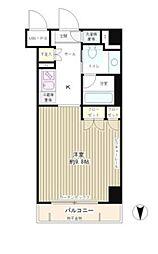 コンパートメント東京中央[2階]の間取り