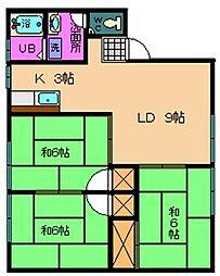 エンゼルハイム[2階]の間取り