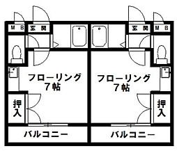 JR新宮センチュリー21[303号室]の間取り