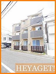 東京都昭島市福島町の賃貸アパートの外観