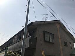 東京都大田区東嶺町の賃貸アパートの外観