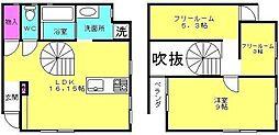 [一戸建] 兵庫県加古川市野口町良野 の賃貸【/】の間取り