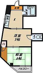 グラントピア第二京橋[2階]の間取り