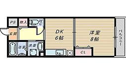 ガレリア湊[2階]の間取り