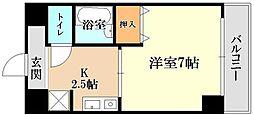 サンタウン竹鼻A棟[3階]の間取り