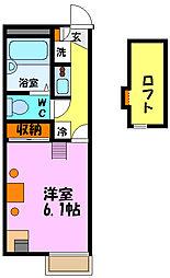 ゆげたII[1階]の間取り