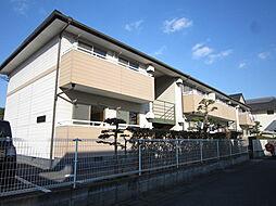 岡山県倉敷市玉島柏島の賃貸アパートの外観