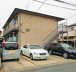千葉県市川市新井2丁目の賃貸アパートの外観