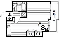カネカシーサイド須磨寺[3階]の間取り