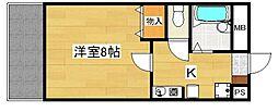 コアロード[3階]の間取り