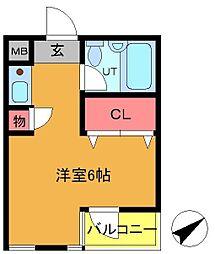 Jステージ東船橋[304号室]の間取り