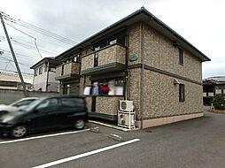 栃木県栃木市薗部町2丁目の賃貸アパートの外観