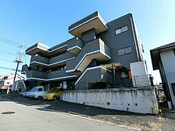 栃木県宇都宮市清原台3丁目の賃貸マンションの外観