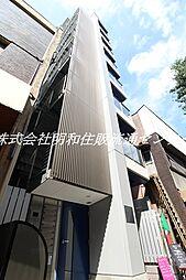 グランブルー駒沢[8階]の外観