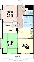 小澤土地ビル[2階]の間取り
