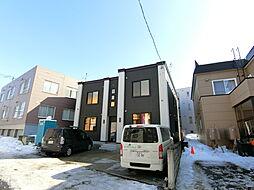 北海道札幌市豊平区平岸四条7丁目の賃貸アパートの外観