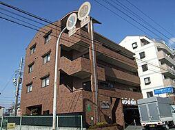 大阪府豊中市服部西町4丁目の賃貸マンションの外観