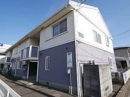 神奈川県厚木市岡田4丁目の賃貸アパートの外観