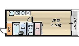 ホームライフ香ヶ丘[2階]の間取り