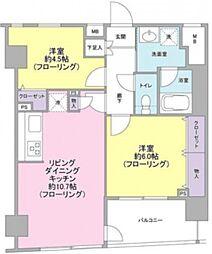 パートナーシップアパートメント[12階]の間取り