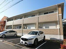 千葉県千葉市緑区おゆみ野中央1の賃貸アパートの外観