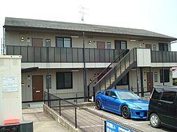 愛知県岡崎市稲熊町字8丁目の賃貸アパートの外観