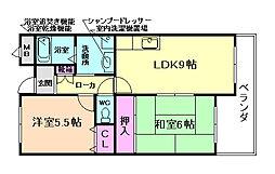 メゾン・ド・プラス豊中[3階]の間取り