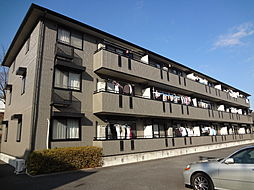 東京都八王子市長房町の賃貸アパートの外観