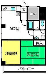勝田ビル[3階]の間取り