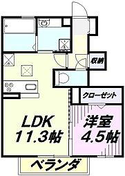 JR青梅線 小作駅 徒歩22分の賃貸アパート