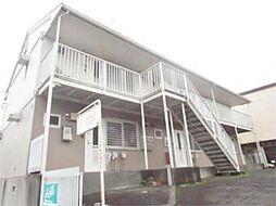 東京都多摩市連光寺6丁目の賃貸アパートの外観