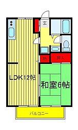 エソールコトブキ[2階]の間取り