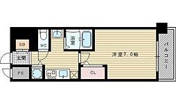 SDグランツ新大阪[5階]の間取り