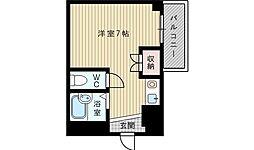 大阪府吹田市泉町5の賃貸マンションの間取り
