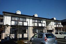 新潟県新発田市舟入町2丁目の賃貸アパートの外観
