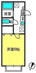 埼玉県さいたま市北区奈良町の賃貸アパートの間取り
