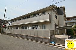 東京都江戸川区中葛西1丁目の賃貸アパートの外観