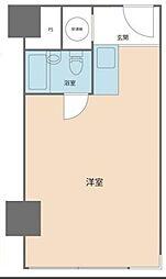 トーカン新宿キャステール[6階]の間取り