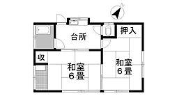 [一戸建] 埼玉県鴻巣市松原2丁目 の賃貸【/】の間取り