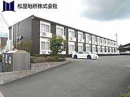 愛知県豊橋市前芝町字堤下の賃貸アパートの外観