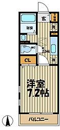サイドパーク湘南[1階]の間取り
