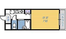 フルーリ深井[2階]の間取り