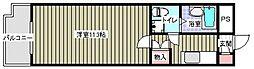 リュージュ飯倉[215号室]の間取り